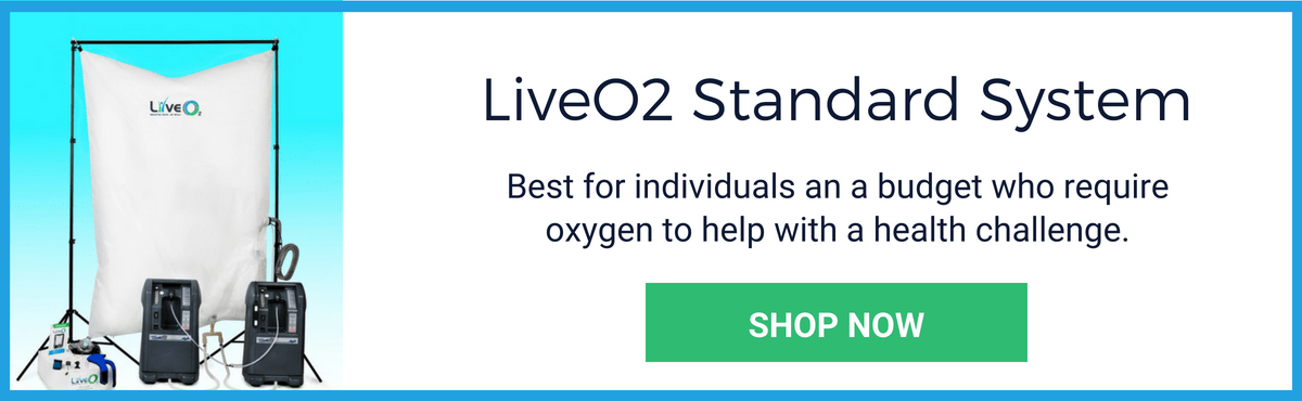 Shop Now For The LiveO2 Standard EWOT System
